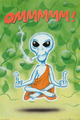 0a alien smoking pot