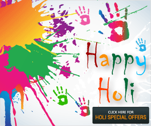 Holi Deals and Offers