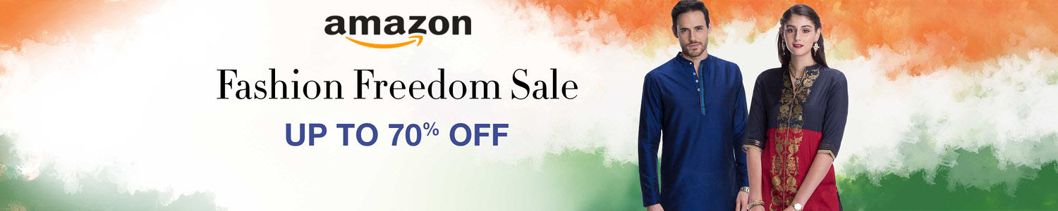 Amazon - Fashion Freedom Sale Up to 70% Off