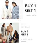 Buy 1 Get 1 Free || Buy 2 Get 1 Free on Apparel & Accessories