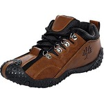 Birdy Lace-up Men's Black Brown Smart Casual Shoes.