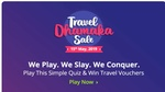 Get 50% CB upto 1000 on Flight & Bus Booking paytm unique code by playing free game