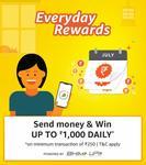 Amazon - Send money and get cashback upto 1000 daily