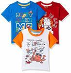 Pack Of 3 Kids Tshirts starts @179
