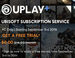 100 plus UBISOFT games free for a month