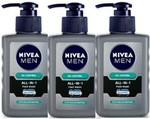 Nivea Men Oil Control All In One Face Wash Pump, 150 ml (Pack of 3)