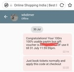Giveway: 100% cashback upto 100 on paytm bus tickets
