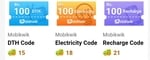 Mobikwik Vmate 100% supercash Offer on Recharge,DTH, Electricity all user
