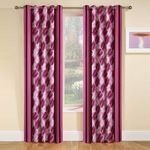 Jars Collections Set Of 2 Polyester Door Curtains - Flat 20% OFF | FREE Shipping
