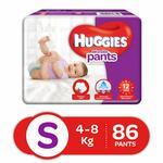 Huggies Wonder Pants Diapers, Small (Pack of 86)