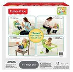Fisher Price 4-in-1 High Chair (Multicolor) 55% off