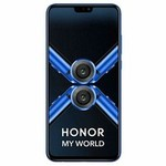 Honor 8X (Blue, 4GB RAM, 64GB Storage) + 10% discount with SBI credit card + ₹8050 exchange value