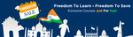 Eduonix Freedom Sale Free Courses and Courses for Rs 50
