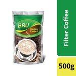 BRU Green Label, 500g Poly Pack @ 90