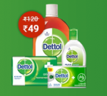 Dettol and Mom kit for ₹49