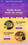 PhonePe offer - Faasos, Dominos, eatfit, Oven story  - Double discount offer