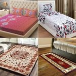 BestPrice Deal: Midhas  2 Bedsheets with Carpet & Runner @ just Rs. 1039 | Use Code: OFFER20