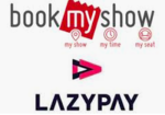 Get 20% Cashback upto 100₹ on IT-2 & Chhichhore Movie Tickets using LazyPay