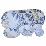 Best Value Pack: 24 Pcs New Dinner Set Combo @ Just Rs 639 + Free Shipping