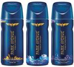 Park Avenue Deo (Pack of 3) at Rs.297