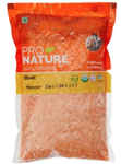 Pro Nature 100% Organic Masoor Dal Split, 500g