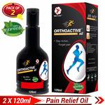 Dr Trust Orthoactive Pain Relief Oil - 120 ml (Pack of 2)  - Lightning Deal