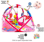 Itsy Witsy Baby Musical Play mat with Bedding Set and Mosquito net
