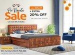 Pre Navratri Sale!! Enjoy upto 55% off on home furniture