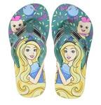 Barbie Girl's Sea Green Flip-Flops-5 Kids UK/India (22 EU) (STY-18-19-001806) -Free Shipping