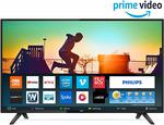 Philips 80 cm (32 inches) 5800 Series HD Ready LED Smart TV 32PHT5813S/94 (Black). With Exchange Save Up to 4,690.00 off