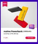 Realme Powerbank 10000 mah Sale @ 28th Sept - Upcoming