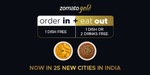 Zomato Gold now in 25 new cities in India