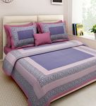 Flat 80% Off On Bedsheets With 2 Pillow Cover