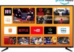 (Prime only deal) Kevin 125 cm (49 inches) 4K UHD LED Smart TV KN49UHD-PRO (Black) (2019 Model)