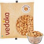 Amazon Brand - Vedaka Popular Whole Almonds, 1kg + Extra 10% OFF with SBI Cards
