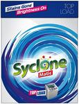 Syclone Matic Top Load Detergent Powder for Washing Machine, 2kg with Subscribe & Save