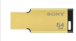 Sony 64GB USB 3.1 Flash Drive (Gold)