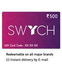 Get 10℅ instant discount on Swych Gift card using BOB Credit Card: Swych can be reedeem to buy Amazon Gift Card