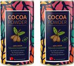 looms & weaves Pure and Natural Cocoa Powder from Kerala, 800g