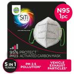 Dettol Anti Pollution Mask N95 Siti Shield Carbon Activated