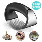 Stainless Steel with Plastic Portable Garlic Crusher Ginger Mincer @ Rs.270