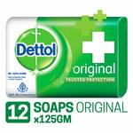 [Pantry] Dettol Germ Protection Bathing Bar Soap - 125 g (Original, Pack of 12)