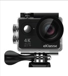 "eKlasse EKAC02EG Action Camera 4K Ultra HD, 2"" Full HD Display, Wi-Fi (Black) Rs.3186"