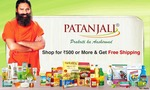 Flat 100 cashback on 500 & 200 cashback on 1000 for all users on Patanjali products on Paytm