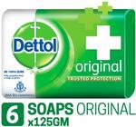 [Pantry]   Dettol Germ Protection Bathing Bar Soap - 125 g (Original, Pack of 6)