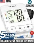 Dr. Trust (USA) BP-Monitor with 5 Years Warranty+ free Digital thermometer