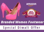 Rock This Diwali with Best Branded Women Footwear - Upto 80% Off