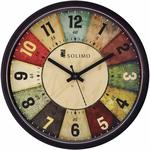 Amazon Brand - Solimo 12-inch Wall Clock - Classic Roulette