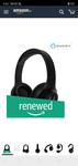 In stock again (Renewed) Motorola Escape 210 Over The Ear Bluetooth Headphones (Black)