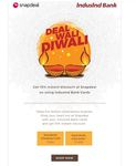 Snap 15% Instant Discount this Diwali on Snapdeal 18th -20th October